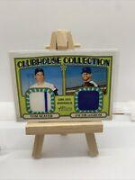 2021 Topps JACOB DEGROM / TOM SEAVER Heritage Relic 68/72 New York Mets Card Lot