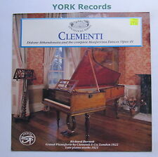 SAR 8 - CLEMENTI - Late Piano Works RICHARD BURNETT - Excellent Con LP Record
