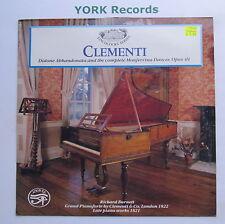 SAR 8 - CLEMENTI - Late Piano Works RICHARD BURNETT - Excellent Con LP Record