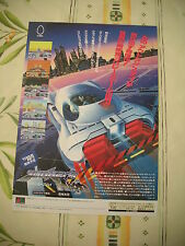 >> JUNKERS HIGH RACING UNRELEASED MEGADRIVE JAPAN HANDBILL FLYER CHIRASHI! <<