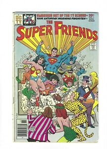 The Super Friends #1 TV Show Superman Batman Wonder Woman 2.0 GD, DC