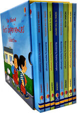 The Usborne First Experiences Collection 8 books set Illustrated by Stephen..