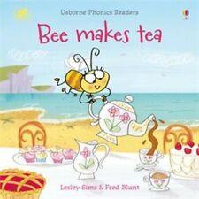 Usborne Book (new) Phonics Reader BEE MAKES TEA