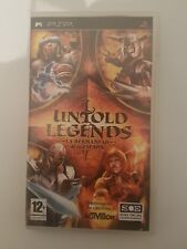 Untold Legends :La Hermandad de la Espada para PSP en español y completo