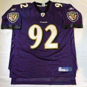 Baltimore Ravens Ngata #92 Football Jersey Size XL XLarge Purple Reebok NFL