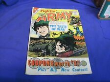 Fightin' Army #41 Vg- (3.5) Charlton Comic May 1961 10 Cent Cover Price