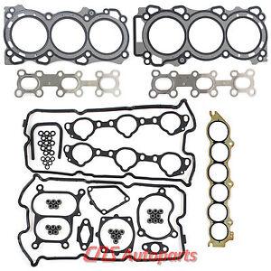 Fits 02-06 3.5L NISSAN ALTIMA MAXIMA MURANO QUEST I35 VQ35DE MLS HEAD GASKET SET