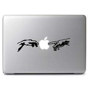 Michelangelo Touch Adam Vinyl Decal Sticker for Apple Macbook Laptop Car Window