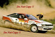 Juha Kankkunen è TOYOTA CELICA GT-4 RALLY Australiano fotografia 1989 1