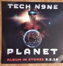 Music Poster Promo Flat TECH N9NE ~ PLANET