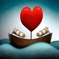 PETER SMITH ART WASHINGTON GREEN CARD: LOVEBOAT NEW IN CELLO POST  DAILY