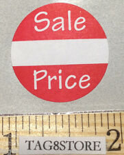 """500 Self-adhesive Round Retail Labels 1"""" Sticker Tags"""