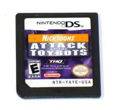 Nicktoons: Attack of the Toybots (Nintendo DS, 2007) Tested - Cartridge Only