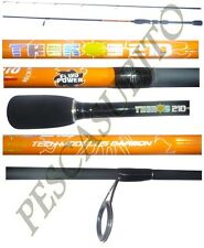 canna spinning theros 2,10m 2/10g pesca rockfishing troutgame trota lago