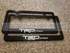 TRD Pro License Plate Frame Tundra Tacoma 4 runner - Pair