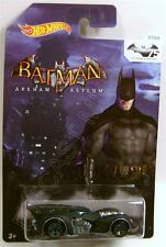ARKHAM ASYLUM BATMOBILE 75 YEARS OF BATMAN HOT WHEELS DIECAST HW 2014