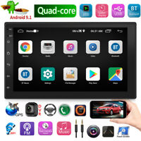 2 DIN 7in Android 9.1 Car Stereo MP5 Player GPS Navigation BT Radio Head Unit
