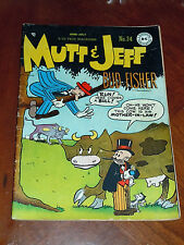 MUTT AND JEFF #34 (1948) VG+ (4.5) cond. BUD FISHER