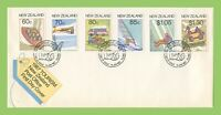 New Zealand 1987 Tourism set on First Day Cover