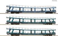 Roco 74097 HO Gauge DB Christoforus-Express Car Transporter Set (3) IV