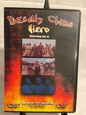 Deadly China Hero Dvd Jet Li no plastic wrap