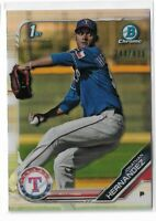 2019 Bowman chrome prospects refractor Parallel Jonathan Hernandez 244/499