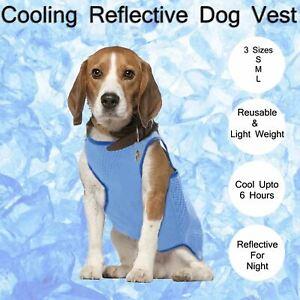 Dog Cooling Vest, Breathable Cooling Coat Outdoor Anti-heat Summer Jacket