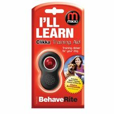 MIKKI CLIKKA CLICKER TRAINING  AID FOR DOG & PUPPY TRAINING 6234223 OBEDIENCE