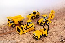 Toy state Caterpillar CAT Construction Mini Machine 5 Pack Express Shipping