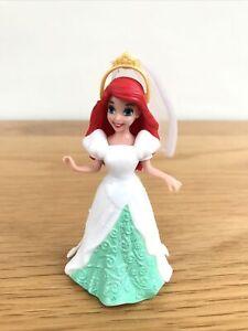 * DISNEY PRINCESS MAGICLIP ARIEL Doll Wedding Dress Little Mermaid Mattel *