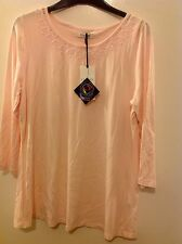 Classic For M&S 3/4 Sleeve Top Size: 8