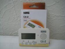 KORG CA-2 Chromatisches Stimmgerät für Blechblas,- Streich- und Zupfinstrumente