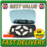 Left Passenger Heated Blue Wing Mirror Glass for BMW Series 3 E46 Coupe 98-05