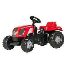 Rolly Toys Zetor 11441 Forterra ohne Frontlader Traktor Trettraktor rot