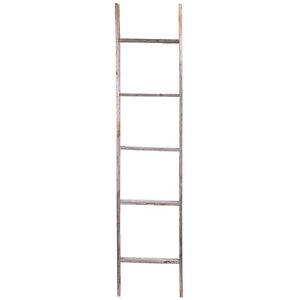 5' Reclaimed Rustic Barn Wood Ladder