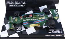 Minichamps Lotus Ford 79 'Martini' Italian GP 1979 - Mario Andretti 1/43 Scale