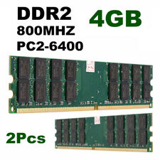 8GB 2X 4GB DDR2-800 MHZ PC2-6400 240 pins Desktop Memory RAM For AMD Motherboard