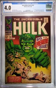 Hulk #102 CGC 4.0 Freshly Graded