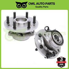 2 Front Wheel Bearing Hub for 1995-1999 Chevy GMC K1500 Suburban Yukon 6Lug 4WD