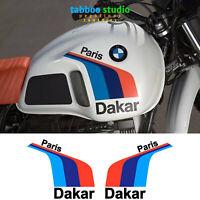 Adesivi serbatoio BMW R80 Paris Dakar pegatinas stickers vinile vinilo moto