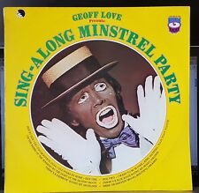 Geoff Love - Sing Along Minstrel Party - 1974 LP record excellent + CD-R backup