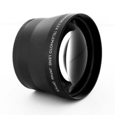 72mm TELEPHOTO 2.2X LENS fo SONY HDR-FX1 DSC-H9 DSC-H7 Alpha DSLR-A580 A560 A550