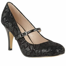 Stiletto Synthetic Floral Heels for Women