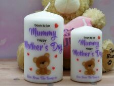 Mum To Be Mother's Day Candle Birthday Present Gift From Bump