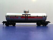 "HO Scale ""Exxon Oil Corporation - Happy Motoring"" Oil Tanker Freight Train Car"