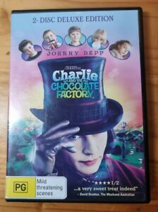 Charlie and the Chocolate Factory DVD - Johnny Depp, Region 4 Free shipping