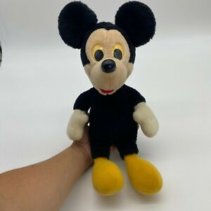 Vintage Hasbro Softies Mickey Mouse Walt Disney Plush Toy Collectable No Clothes