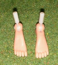 VINTAGE ACTION MAN 40th REPLACEMENT FEET 1 PAIR LOOSE 1/6 SCALE