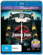 Jurassic Park 3D M Rated DVDs & Blu-ray Discs
