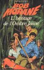 BOB MORANE 63 L'héritage de l'Ombre Jaune OJ Pocket Marabout Henri VERNES livre